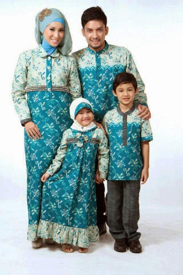 Model Baju Batik Ibu Dan Anak Paling Populer