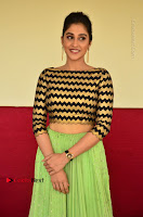 Actress Regina Candra Latest Pos in Green Long Skirt at Nakshatram Movie Teaser Launch  0092.JPG