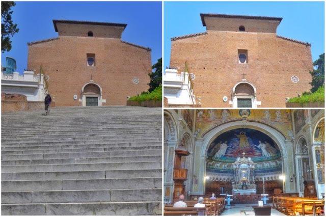 Iglesias Santa Maria in Aracoeli y Santi Cosma e Damiani en Roma