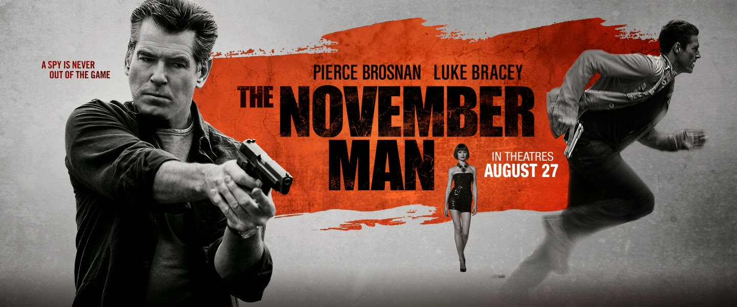 The November Man - Brosnan deserves better!