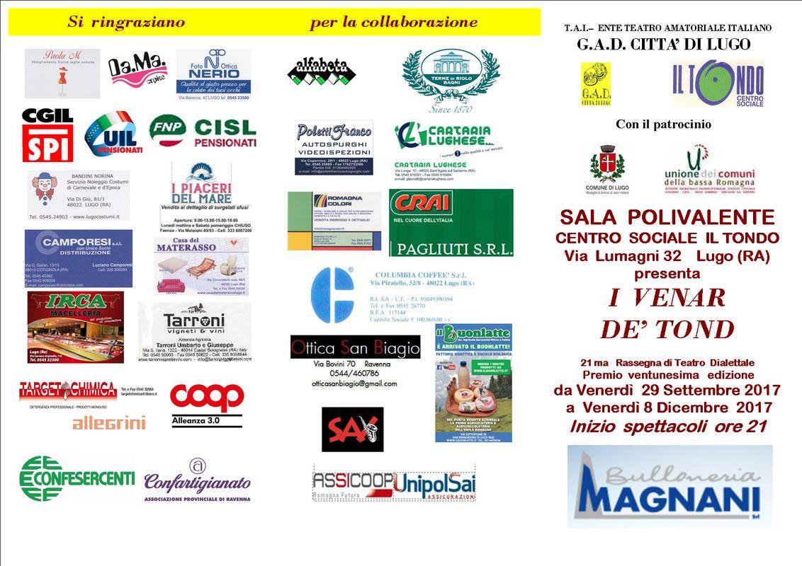 Casa Del Materasso Lugo il tondo - lugo: rassegna teatrale dialettale - i venar dè