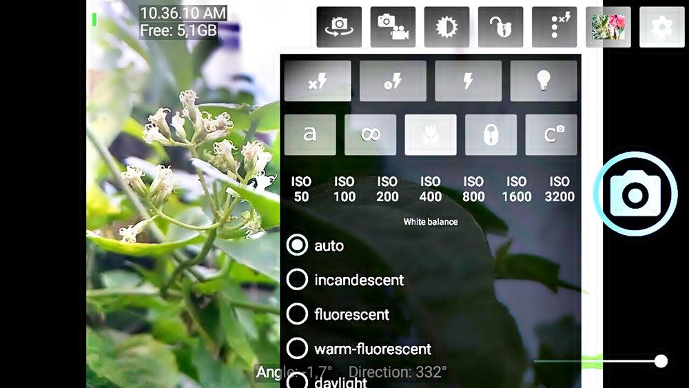 Open Camera aplikasi kamera android terbaik