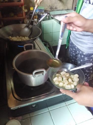 Cara Membuat Cimol Basah
