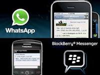 Blackberry Kalah Pamor sehingga Whatsaap Meninggalkan, Kasian Ya Kamu ?