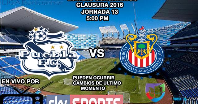Partidos Chivas EN VIVO: 10-Abril-2016 Liga Bancomer MX, Clausura 2016 ...