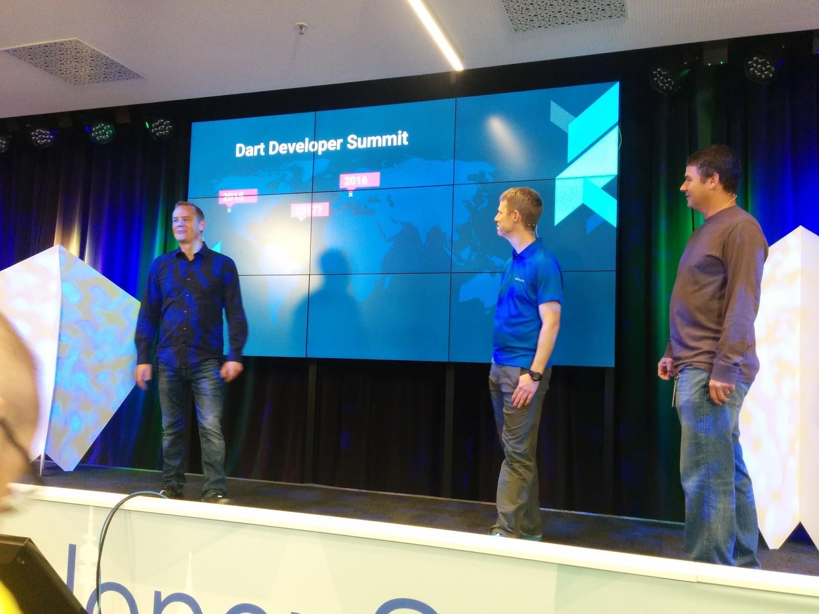 Jana Moudrá blog: Dart Developer Summit 2016