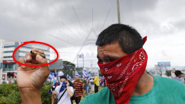 Paramilitares Orteguistas disparan contra manifestantes de la Marcha de las Banderas