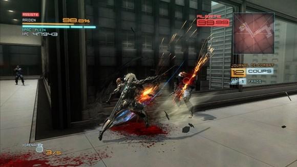 Metal Gear Rising Revengeance PC Free Download Screenshot 1