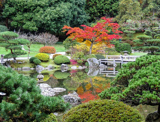 Seattle Japanese Garden: OnTheMove-at Home: Seattle Japanese Garden In Fall