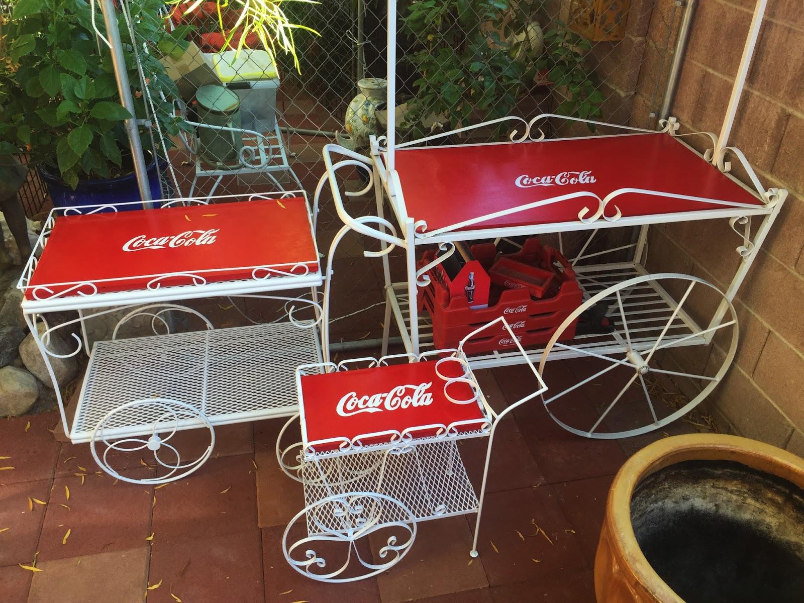 Las Vegas Antique Shops Coca Cola Stencil Project