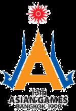 Logo Asian Games ke 13 Tahun 1998 di Bangkok Thailand