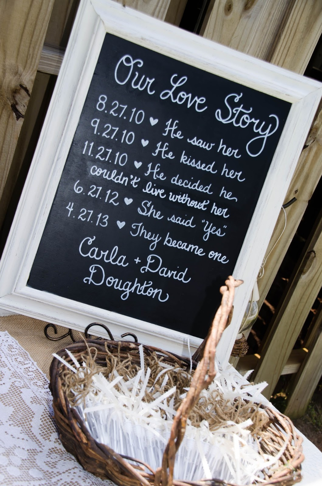 Lizzi's Creations: Project Wedding: Carla + David