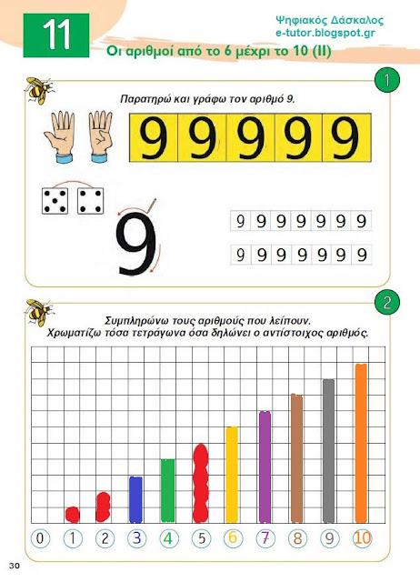 Κεφ. 11 - Oι αριθμοί από το 6 μέχρι το 10 (ΙΙ) - Ενότητα 2