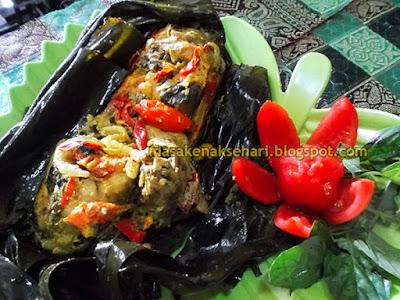 Cara Membuat Pepes Ayam Sunda Resep Bumbu Kuning