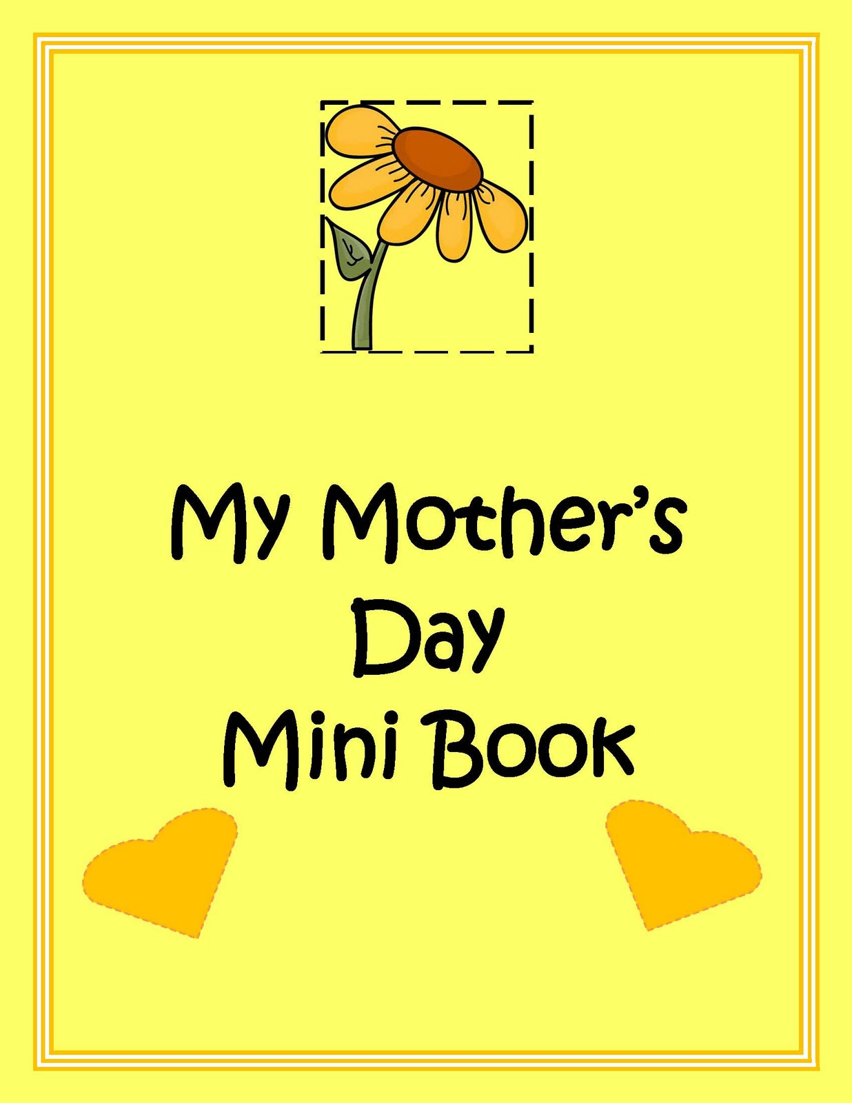 made 4 elementary and made 4 middle school mother 39 s day mini book activity. Black Bedroom Furniture Sets. Home Design Ideas