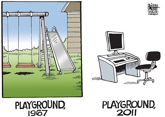 playground evolution