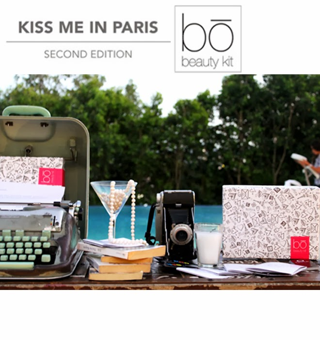 Beauty Diaries Bo Beauty Kit Kiss Me In Paris Release Our Favorite Style