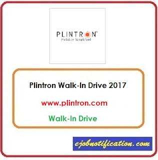 Plintron Freshers as Software Trainee Walk-In Drive jobs in Chennai Sep'2017