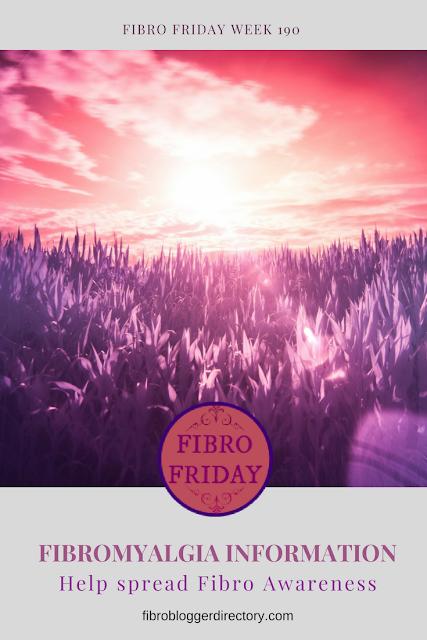 It's Fibro Friday week 190