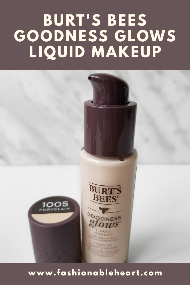 bblogger, bbloggers, bbloggerca, canadian beauty blogger, beauty blog, burt's bees, notsynthetic, goodness glows, liquid makeup, foundation, porcelain, shade 1005, swatches, review, fair skin, dry skin, all aglow, lip & cheek, highlighter, bronzer
