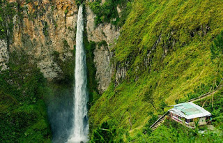Tiket Masuk Air Terjun Sipiso-Piso Sumatera Utara