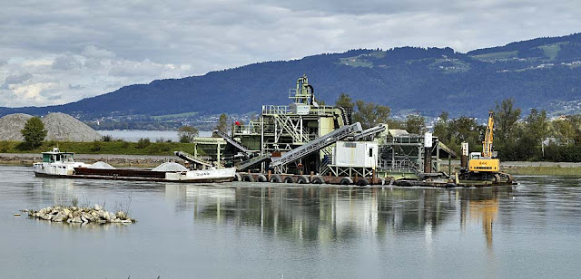 Die Rheinmündung