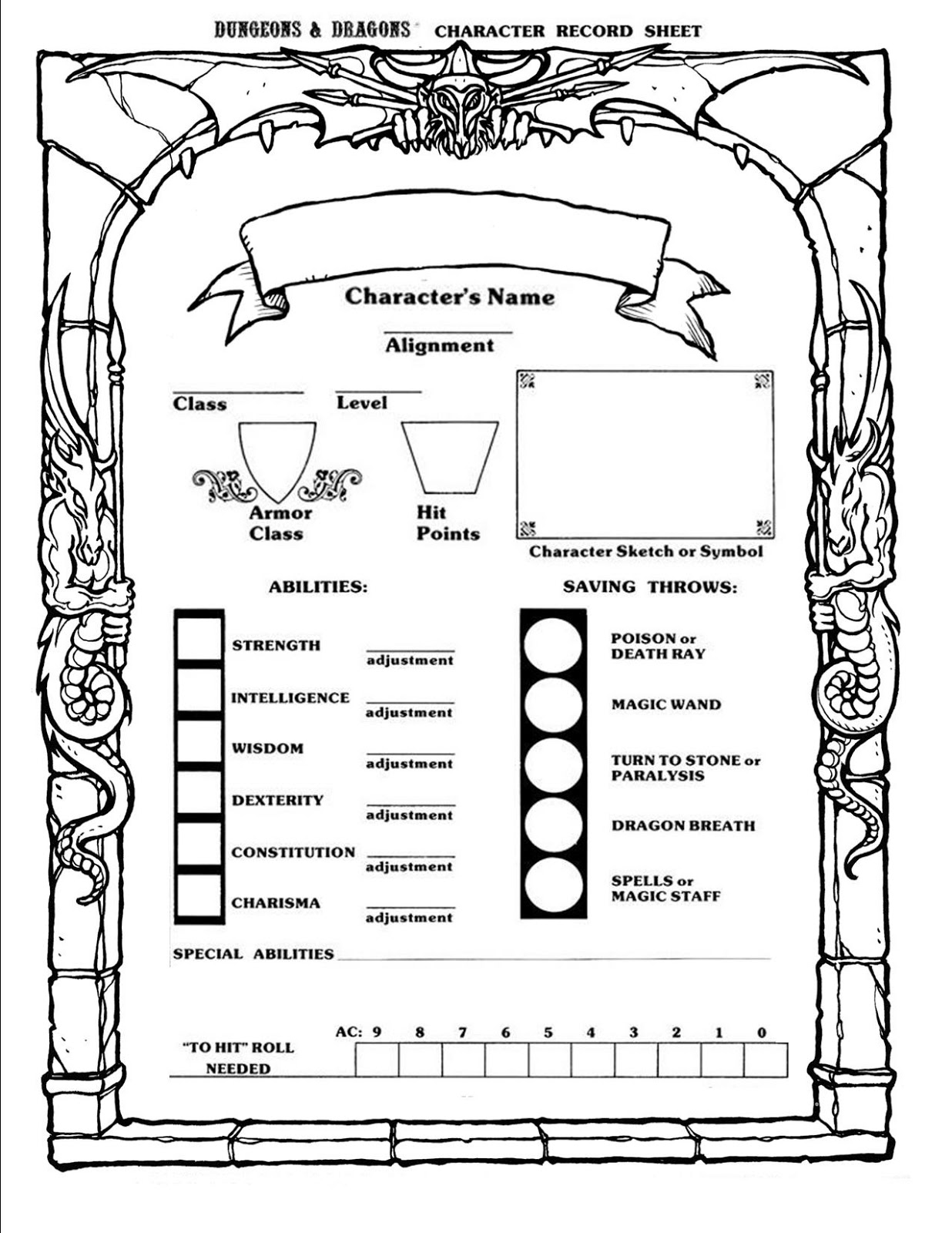 Download Free Dungeons Dragons 4th Edition Character Generator Free