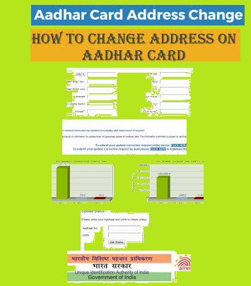 Change Address in Aadhar Card
