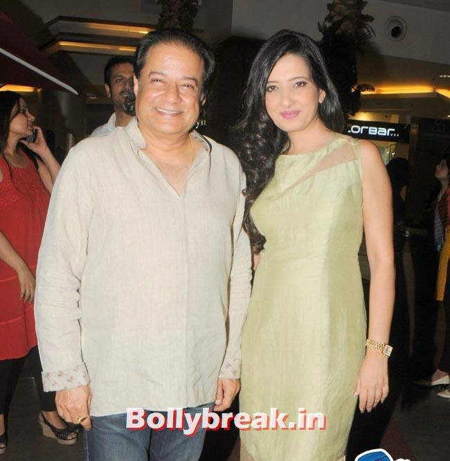 Amy Billimoria with Anup Jalota, Make a Wish Foundation Fundraiser Fashion Show