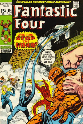 Fantastic Four #114, the Over-Mind