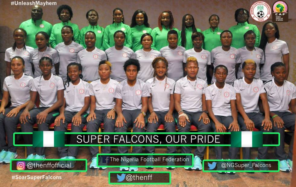 2016 Super Falcons Fixtures for Africa Women Cup of ...