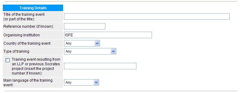 Uf Application Deadline >> ISFE.NET: enero 2012