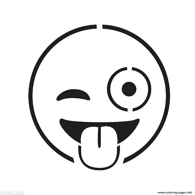 Emoji Faces Colouring Print Emoji Faces Coloring Pages