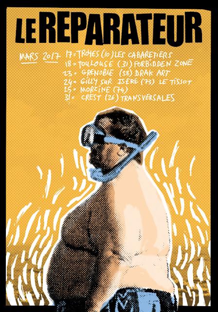 concerts punk le reparateur mars 2017