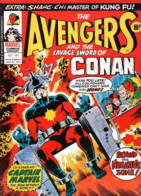 Marvel UK, The Avengers #140, Captain Marvel