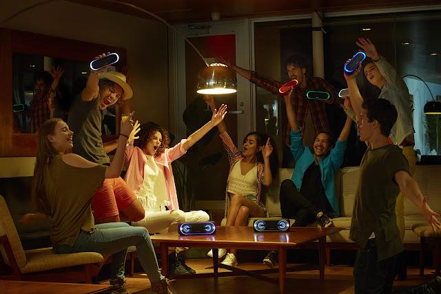 Conoce los nuevos auriculares y altavoces inalámbricos Sony EXTRA BASS™