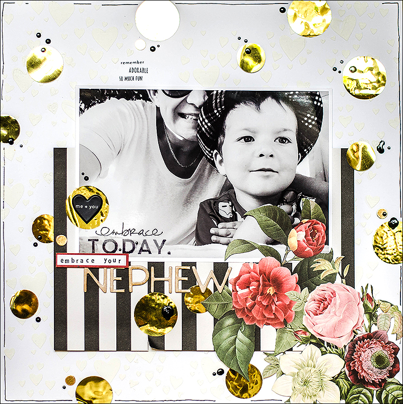SStephanie Berger - Scrapbooking - Embrace