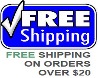 Free Shipping On Order of $20+