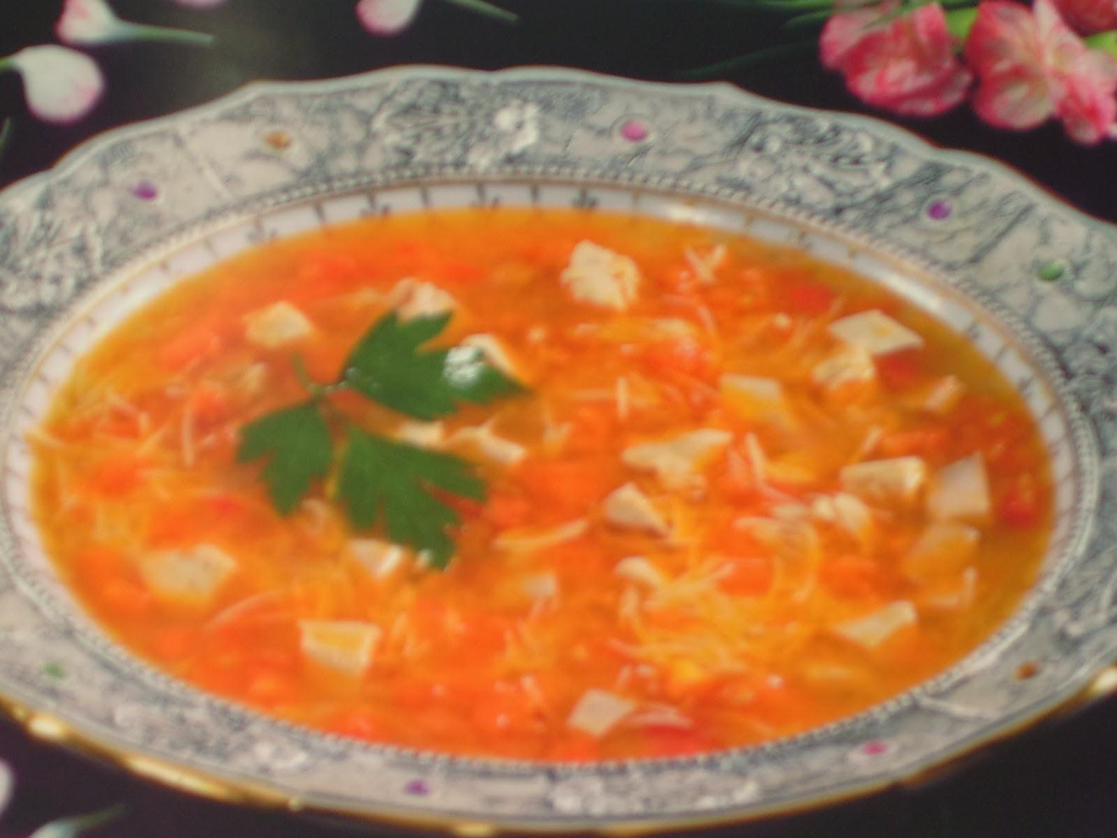 Manger turc la cuisine turque corba aux vermicelles for Aux beaux rivages la cuisine