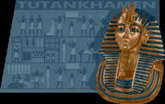 Tutankhamen digital illustration