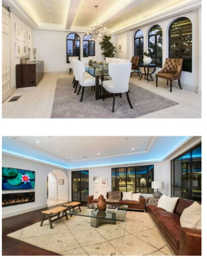 Images of Rihanna's $6.8million mansion in the Hollywood Hills