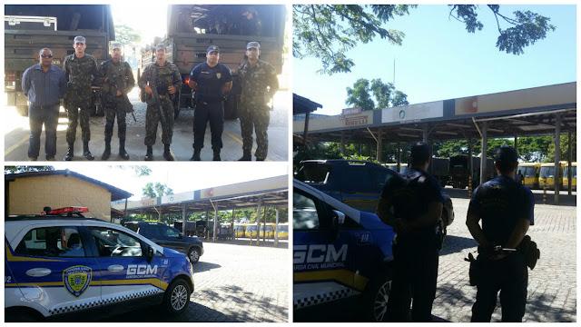Guarda Civil Municipal de Cachoeiro de Itapemirim (ES) é responsável por mostrar cidade às Forças Armadas