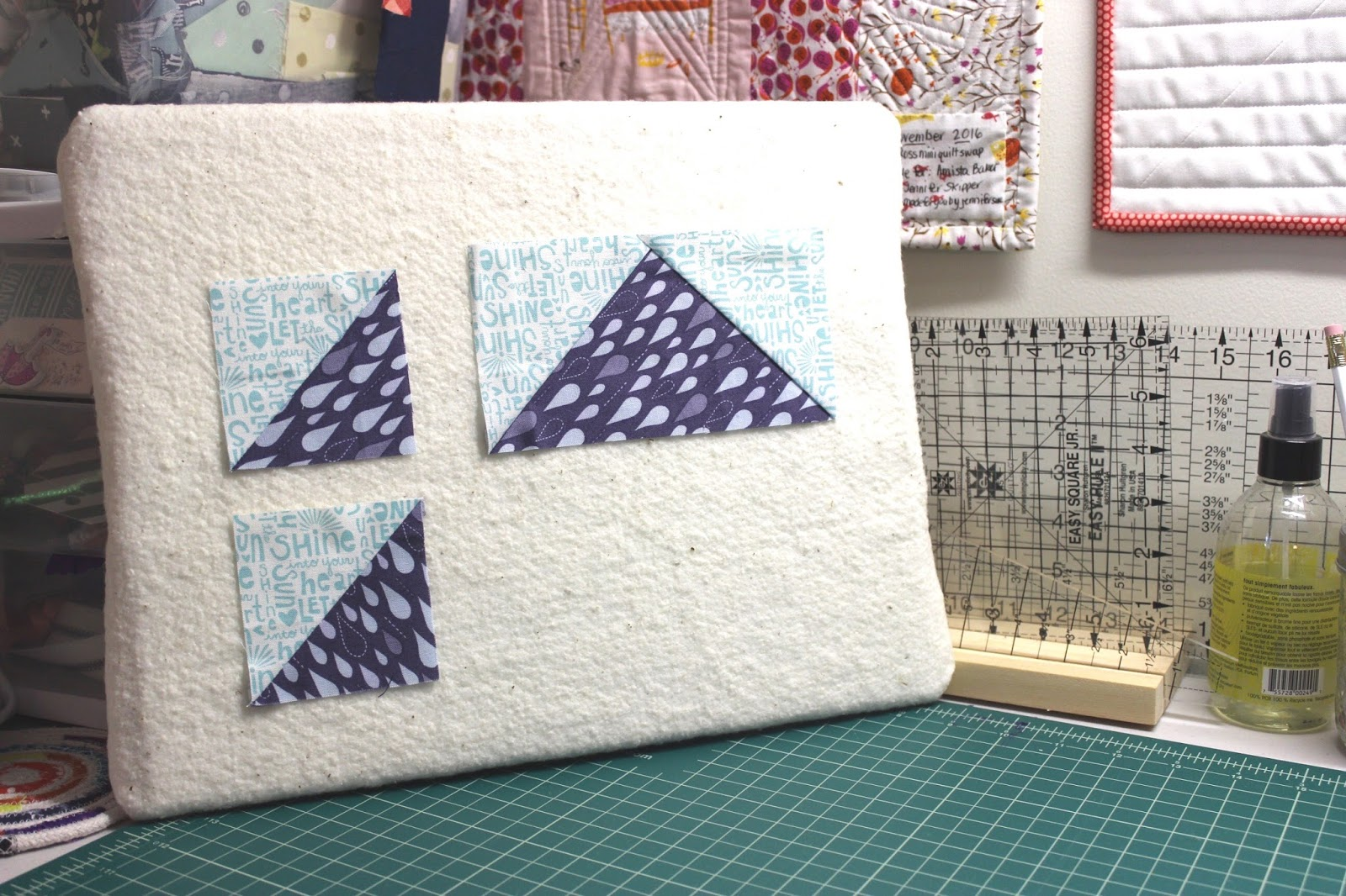 Easy Diy Design Board For Quilt Blocks Hilltop Custom