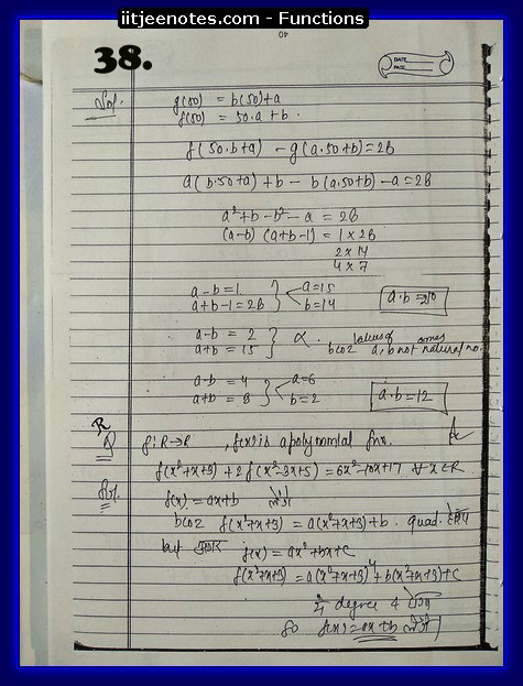 functions notes cbse