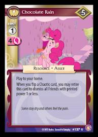 My Little Pony Chocolate Rain Absolute Discord CCG Card