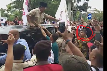 Prabowo Difitnah Bentak Warga, Ternyata Tegur Pengawalnya: Jangan Dorong-dorong Rakyat!