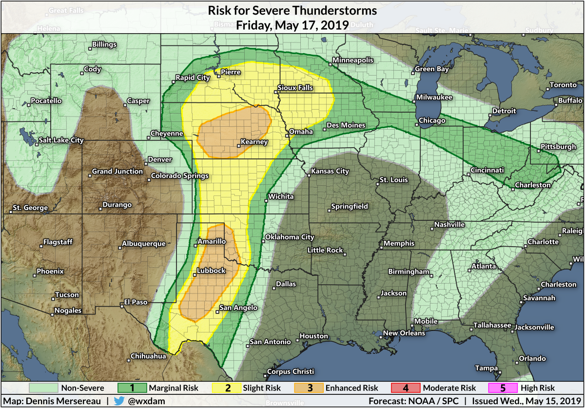 An Extended Period Of Severe Storms Is Likely In The