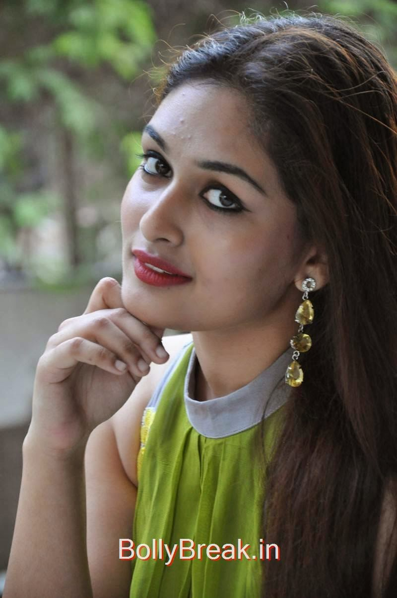 Prayaga Martin Photoshoot Stills, Actress Prayaga Martin Hot HD Images in Green dress