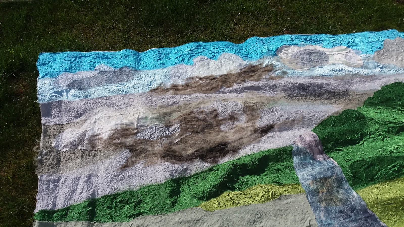 Van alles wat un peu de tout wandkleed 2 tapis mural 2 for 9 11 mural van