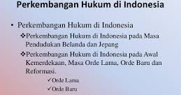 Makalah Perkembangan Hukum Di Indonesia